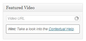 Eembed youtube video in wordpress - Featured Video