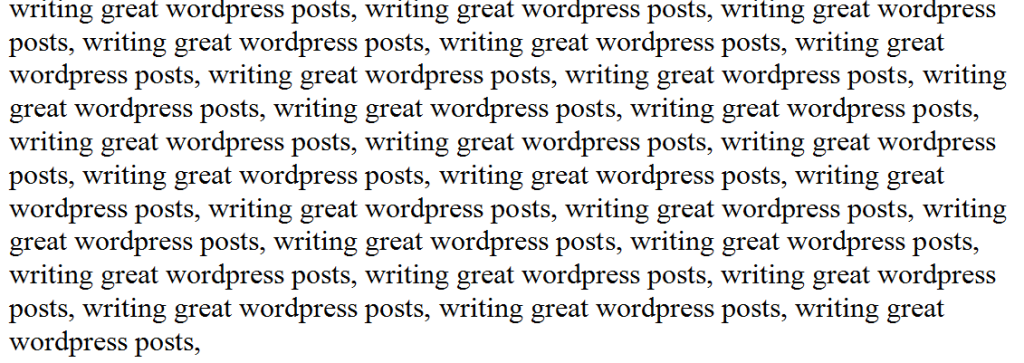 Writing GREAT wordpress posts