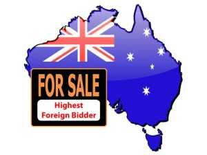 Australia - For Sales - Heighest Foreign Bidder - 2