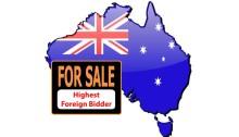 Australia - For Sales - Highest Foreign Bidder
